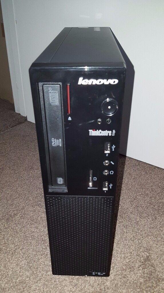 Lenovo E72 PC, 4gb ram, 500gb hdd