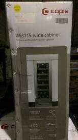 Undercounter wine fridge