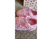 Pink Flower Shoes size 5