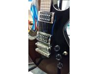 IBANEZ black Electric Guitar ART 80