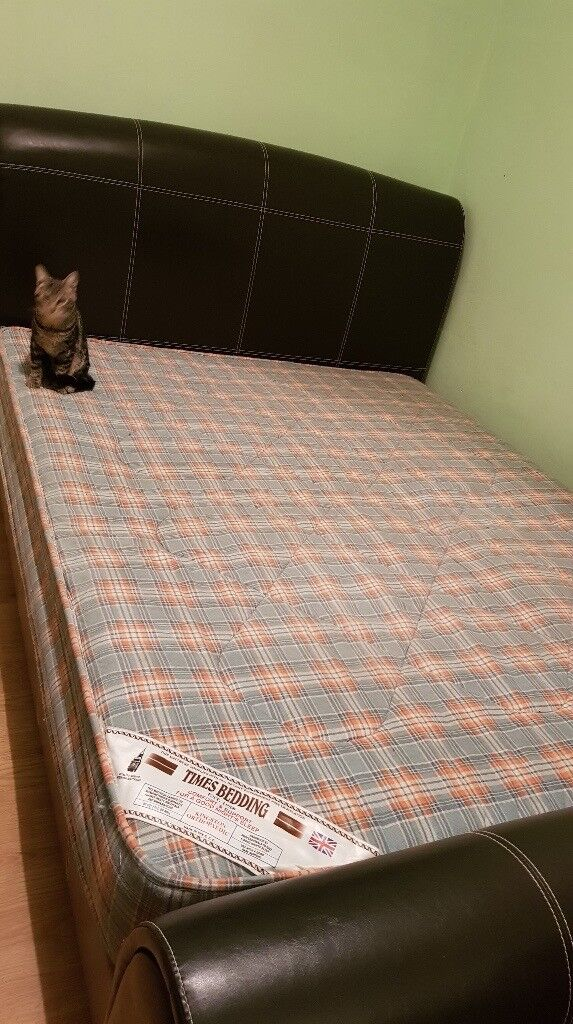 King Size Bed Frame Very Sturdy And Great Structure In