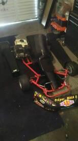 Go kart project (Honda GX160) swap