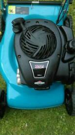 4.5HP self propelled heavy duty lawn mower with one touch hight adjustment