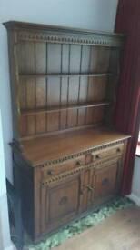 Beautiful solid oak dresser