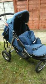 Push chair double