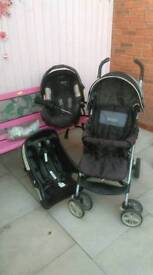 Graco pushchair & all extras