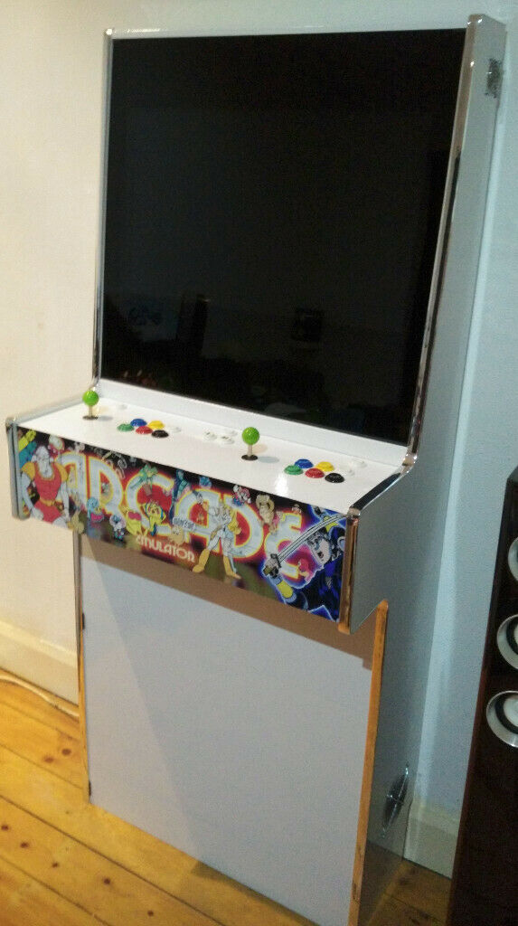 Slim arcade machine cabinet, ideal for hyperspin, mame, launchbox,  emulation station | in Sheldon, West Midlands | Gumtree