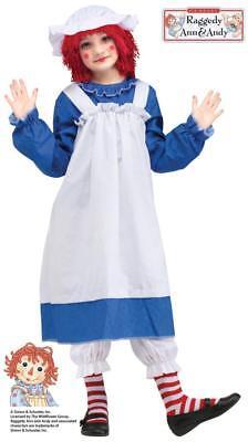 Mädchen Raggedy Ann Klassisch Kostüm