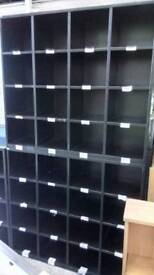 Large metal pigeon hole storage unit. Delivery available