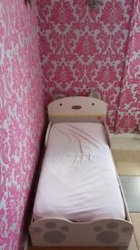 Baby Bear Bed; Mattress; 2 Drawer; Exelent Condition