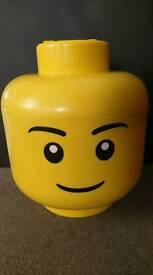 Large Lego head storage box