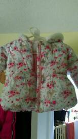 Mothercare dear print coat