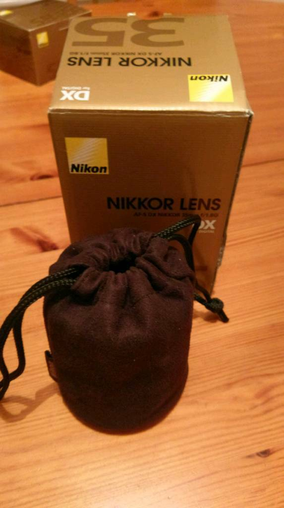 Nikon 35mm af s dx f/1.8Gin AberdeenGumtree - Brilliant condition, barely used. Looking for quick sale, I also have a Nikon Sb 400 flash for sale