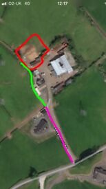 Potential 0.5 acre building site for sale ballymena area