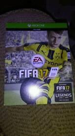 FIFA17 full game code Xbox 1