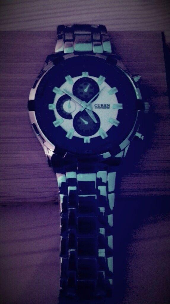 Curen Chronometer Wrist Watch