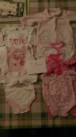 Baby girls early years bundle