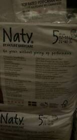Naty recycleable nappies