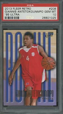 2013 Panini Retro 1995 Ultra Giannis Antetokounmpo RC Rookie Gem Mint PSA 10