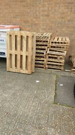 Pallets free to the collector