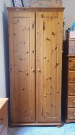 Brown wardrobe