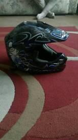 Nitro crosser helmet
