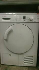 BOSCH 7KG CONDENSER DRYER *FREE LOCAL DELIVERY 3 MONTHS GUARANTEE*