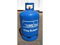 Calor Gas Butane Cylinder 15kg Empty Bottle