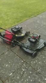 X2 petrol mowers, offers