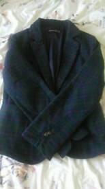 Tweed showing jacket