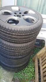225 / 40zr18 Tyres - Good Tread - Good Condition