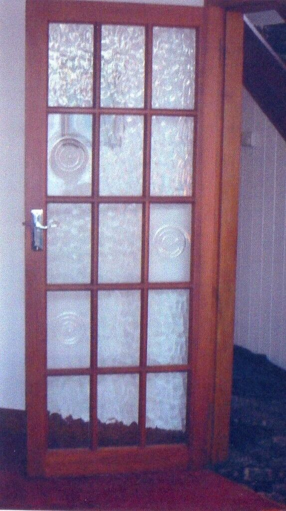 Glass Panel Pine Interior Doors