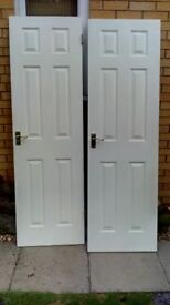 As new Internal Doors - Pair