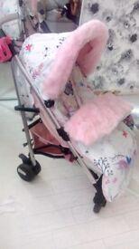 My babiie custom stroller pushchair