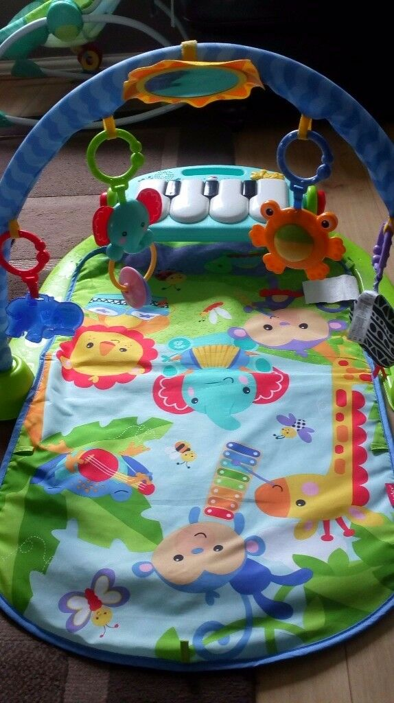 Baby gym/piano