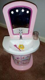 Dolls Baby Born working sink