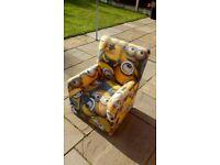 Child's arm chair