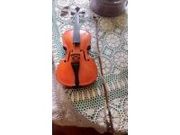 Violin, full size, needs a new string