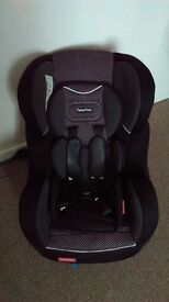 Gold Fisher Highback Booster Car Seat