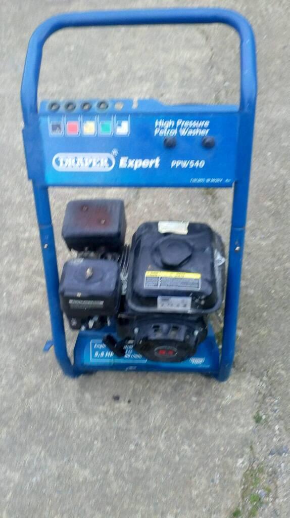 Draper ppw540 petrol pressure washer