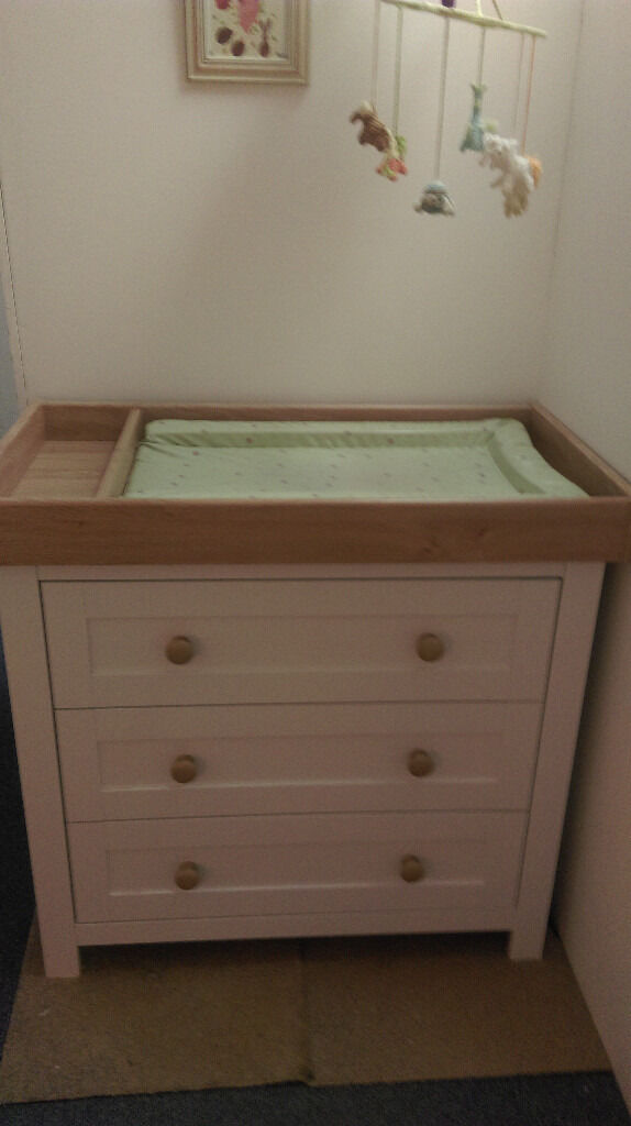 Mothercare Lulworth Dresser Changing Unit Table