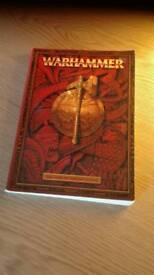 Warhammer fantast rulebook
