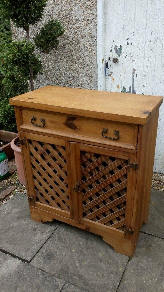 Pine Wooden Sideboard in Very Good Condition