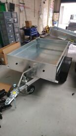 New Franc 5x3 Box Trailer
