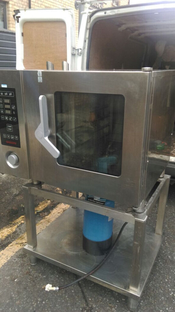 Angelo Po Combi Oven Electric 6 Gridin Haringey, LondonGumtree - Used and is in good working condition Clean! Photo is actual machine on sale High performance and reliable commercial combi oven for restaurants and takeaways Model Angelo Po FX61E2 ZMR0 400V, 3 phase, 16A Dimensions 92 x 87 x 73 cm Collect and pay...