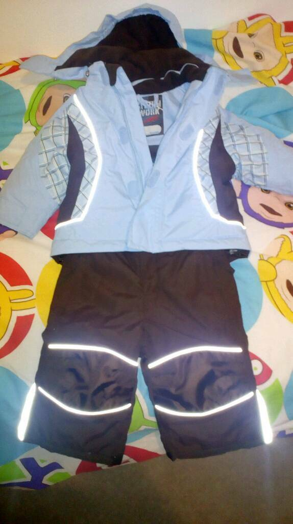 Ski suit immaculate condition 12-18 months