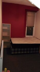 Single room with a double bed on Ashley Down Road available from 7th April