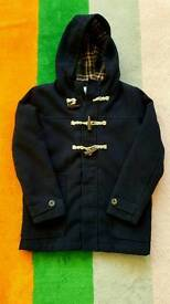M&S Navy Duffle Coat