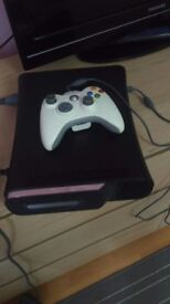Xbox 360 120 GB +11 games (unlocked)