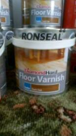 Ronseal diamond hard wood varnish dark oak